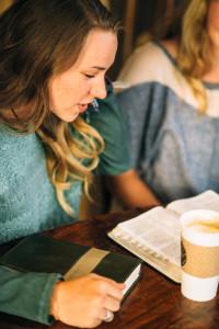 young adult Bible study coffee free lightstock